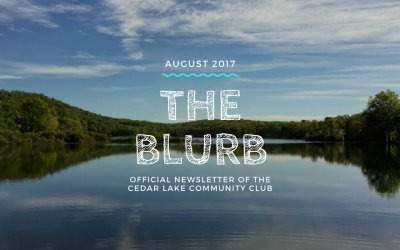The Blurb – August 2017