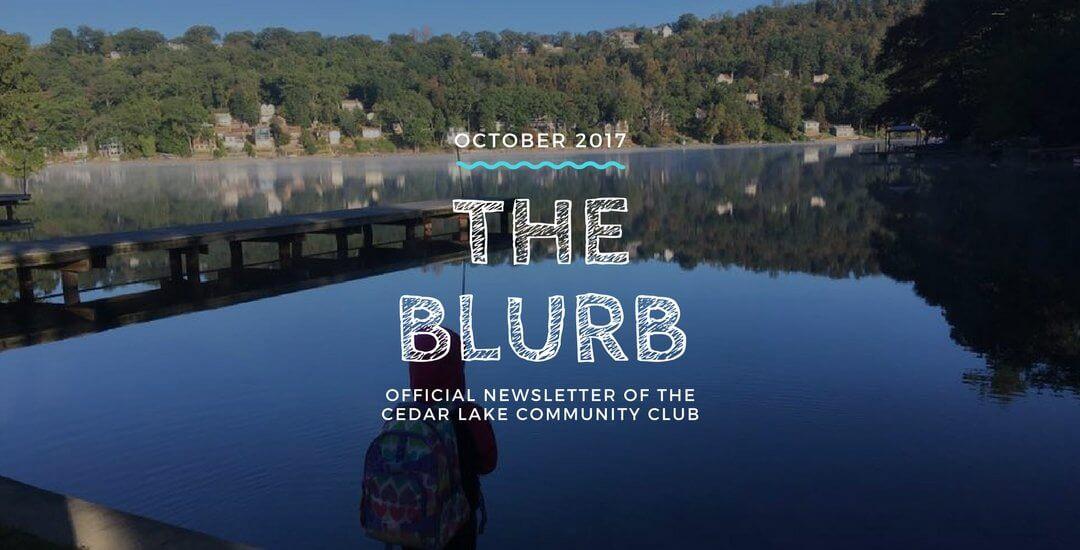 The Blurb – October 2017