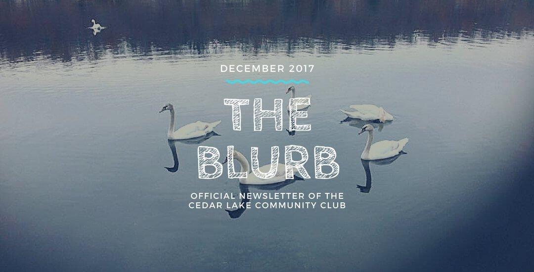 The Blurb | December 2017