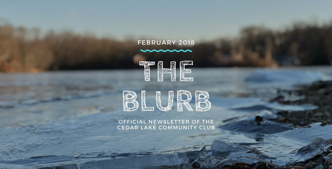 The Blurb | February 2018