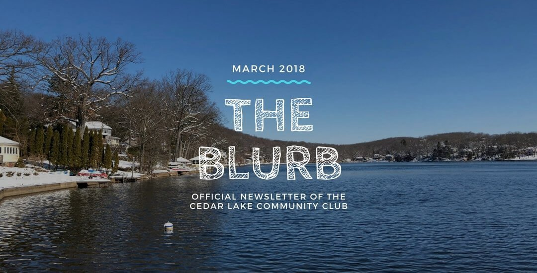 The Blurb | March 2018