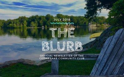 The Blurb | July 2018