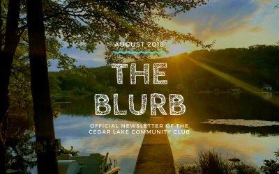 The Blurb | August 2018