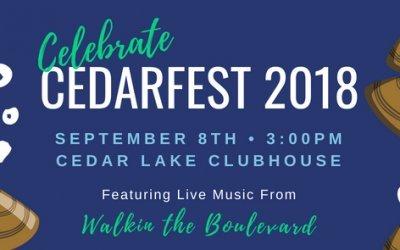 CedarFest 2018