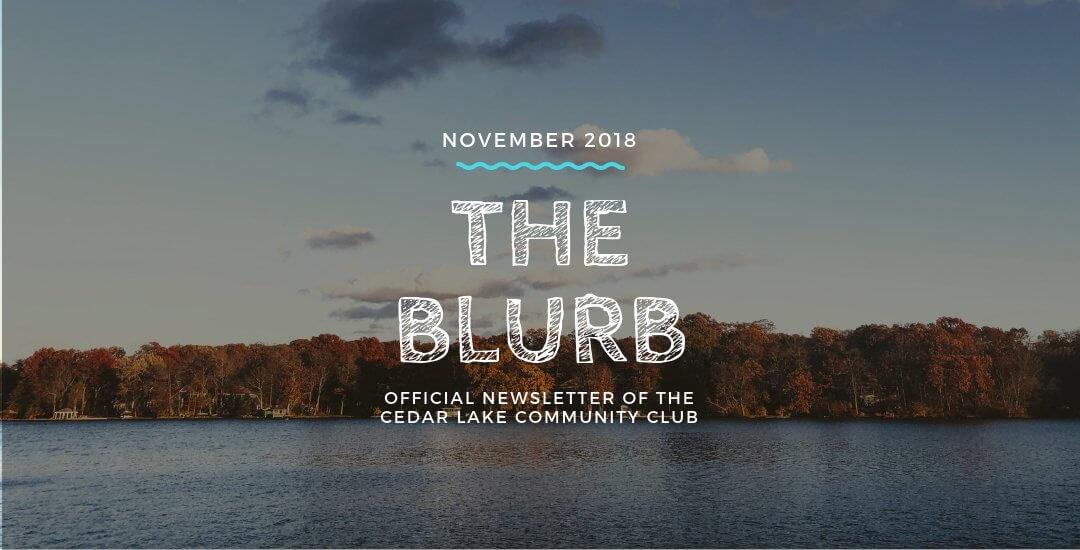The Blurb | November 2018