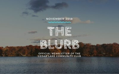 The Blurb | November 2018
