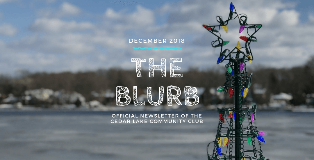 The Blurb | December 2018