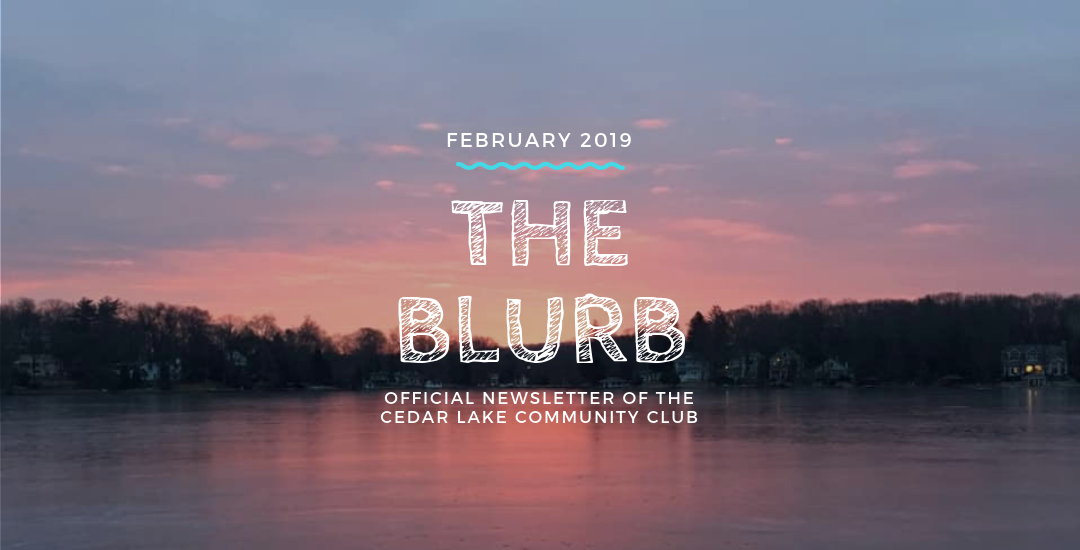 The Blurb | February 2019