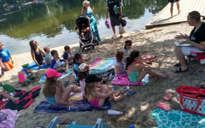Stories in the Sand Makes a Splash at the Lake!