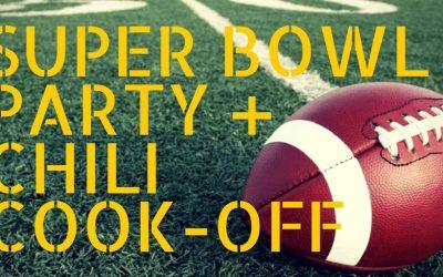 Chili Cook-off & Super Bowl Party Recap